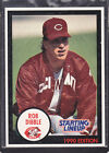 1990  ROB DIBBLE - Kenner Starting Lineup Card - Cincinnati Reds - (BLUE)