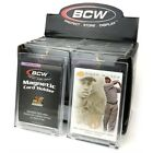 3 BCW 180 Point UV Protected Magnetic Thick Trading Card Holders one touch