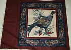 Pheasant Sewiing Quilting Crafting Pillow Panel Bird 15 x 15 1/2