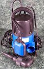1 2 HP ELECTRIC SUBMERSIBLE SUMP WATER PUMP 25 foot Cord 1980 GPH w Adapter NEW