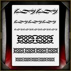 Celtic Tribal 2 Airbrush Stencil Template Airsick