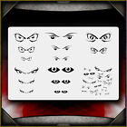 Eyes 1 Airbrush Stencil Template Airsick