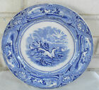 5/8 In. Blue White Transferware Plate