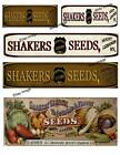 Shakers Seeds Labels Set of 5    FH395