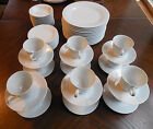 57 Pc Fine China of Japan ASCOT Porcelain China Plates Cups Saucers Bowls