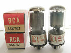 2 matched 1960-64 RCA 6SK7GT radio tubes - Hickok TV7B tested @ 78, 81, min:48