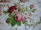 WAVERLY NORFOLK ROSE VINTAGE COLLECTION COTTON 4 1/2 YDS FABRIC NEW