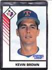 1993  KEVIN BROWN - Kenner Starting Lineup Card - Texas Rangers