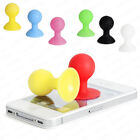 2pcs Mini Rubber Suction Ball Stand Phone iPhone 3G S 4 G 4S iPod Holder Useful