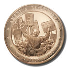 "Franklin Mint History of US America Likes ""Ike"" 1952 45mm Proof Bronze Medal"
