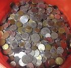 5 lbs of WORLD FOREIGN COINS mixed bulk lots by the pound Many Countries