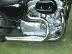 Chrome 2 1 4 Stepped Header Exhaust Drag Pipes Header 04 17 Harley Sportster XL