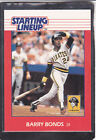1988   BARRY BONDS - Kenner Starting Lineup Card - San Francisco Giants