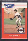 1988  WILL CLARK - Kenner Starting Lineup Card - San Francisco Giants