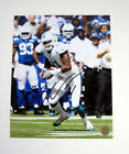 Mike Wallace Signed 8 x 10 Photo Dolphins Wallace II Auto