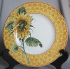 Salad Plate Fitz & Floyd Just Us Chicks Pattern Yellow - New