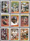 1988 Topps Football Set (396) Vending NM-MT In Sheets Binder Special Shipping