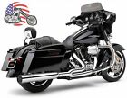 Chrome Cobra PowrFlo 2 into 1 PowerPro Exhaust Pipe System Header Harley Touring
