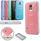 Heavy Duty Shockproof Armor Rubber Hard Case Cover for Samsung Galaxy S5 i9600