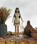 17 Sandra Bilotto NATIVE AMERICAN RED CLOUD AT SUNDOWN VINYL   DOLL  NRFB