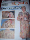 DAISY KINGDOM-SIMPLICITY #7718 - LADIES APRON - SMOCK - CRAFT COAT PATTERN S-Luc