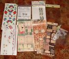 Mixed Lot Scrapbooking Embellishments Stickers Rebecca Sower Sticko Transfers et