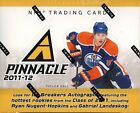 2011 12 Panini Pinnacle Hockey Hobby Box