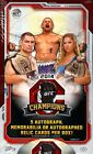 2014 Topps UFC Champions Hobby Factory Sealed 4 Box Lot