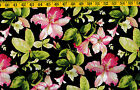 Passion cotton quilt fabric by Northcott Floral 1 yard+ 2
