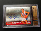 # 99 Blake Griffin BGS 9.5 GEM 2009-10 Studio Skylines Signatures Auto RC #12