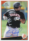 Pablo Sandoval Autographed 2011 Topps Lineage Card