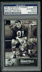 Andy Robustelli signed autograph auto 1997 Upper Deck Legends Card PSA Slabbed