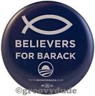 Official 2008 Christian Believers For President Barack Obama Pin Button Pinback