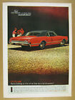 1966 Oldsmobile Olds Cutlass Sports Coupe red  black car photo vintage print Ad