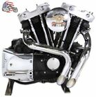 1 3 4 Chrome LAF LAF Exhaust Header Set Drag Pipes Harley Ironhead Sportster