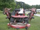 1996 Jacobsen HR 5111 4WD 11 Turf Lawn Mower Red Commercial USA