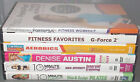 Lot of 6 workout exercise fitness DVD lot 10 Minute Solution Weight Watchers