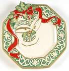 Fitz & Floyd CHRISTMAS BELLS Canape Plate 4033621