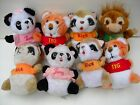 LOT OF 10 VINTAGE 1980 SHIRT TALES ANIMALS PLUSH TOYS, HALLMARK CARDS, TYG RICK