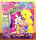 Jigsaw Puzzle LISA FRANK - RAINBOW MATINEE - Cat Dog 48 Pieces - Brand New!