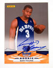 2009-10 Panini Next Day Signatures Sam Young Rookie On Card Auto