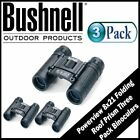 Bushnell Powerview 8x21 Folding Roof Prism Binoculars 3 Pack 132514