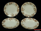 8pc 1884-1913 Brown Transferware British Anchor England Floral Soup Bowls L6X