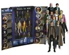NEW Doctor Who Classic 11 Eleven Doctors Collectors Box Articulated figures