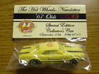 2013 Hot Wheels CA 27th Convention 2013 Newsletter 67 Olds 442 one of 325 made