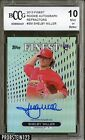 2013 Finest Rookie Autographs Refractor Shelby Miller RC AUTO BCCG 10