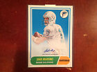 DAN MARINO Dolphins #T60A-DM certified Auto 5 5 made Red Version 2015 Topps 5x7
