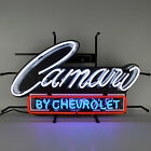 Camaro Neon Sign Chevrolet Brand new on metal grid Hand blown glass wall lamp