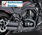 Vance  Hines 3 1 2 Black Widow Slip On Mufflers Exhaust Pipes Harley V Rod Vrod