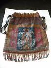 ANTIQUE mesh FRENCH Paris steel beaded PURSE bag ornate design excellent